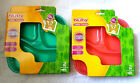 Nuby Toddler Training 2 Pk Section Plates 12 Mths + Bpa Free New
