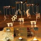 Rotating Candlestick Spinning Rotary Tea Light Candle Holder Stand for DZ88