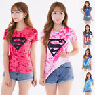 T-Shirt 3D Anime Superhero Women Compression Casual Cosplay Bodybuilding Tops