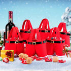 1PC/2PCS Red Nonwovens Treat Gift Bag Kids Candy Stocking Filler For Christmas