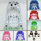 Xbox One Replacement MK1 Controller Faceplates + Buttons / Silver Bullet Mod Kit