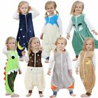 brown Sleeping Bag Sleep Cute Baby 0-6 Years Kids Walker Sleepsack Sleeper Nest