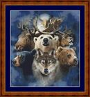 ALASKAN WILDLIFE - PDF/PRINTED CROSS STITCH CHART ARTWORK © STEVEN GARDNER