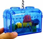 60019 LARGE TREASURE CHEST birds foraging toys cages parrot plastic unbreakable
