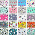 NON-TOXIC PUL COTTON BABY WATERPROOF FABRIC DIAPER COVER NAPPY BIBS BAG OILCLOTH