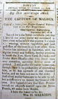 1813 War of 1812 newspaper US CAPTURE of FT MALDEN Amherstberg ONTARIO Canada