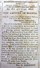 1813 War of 1812 newspaper US CAPTURE of FT MALDEN Amherstberg ONTARIO CanadaPre-1900 - 13993