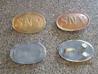 SNY  Civil War belt buckle & cartridgebox plate