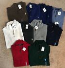 NWT Polo Ralph Lauren Half Zip Sweater shirt NEW 1/2 ZIP french rib