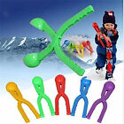 Snowball Maker Throw Snow Ball Fight Clip Winter Keep Hand Warm Tool Outdoor Pop