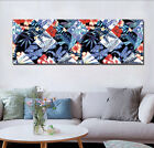 """Canvas Print Painting Wall Art Picture-Colored Leaf Flower Home Decor 16x16""""x3pc"""