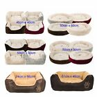 Super Soft Comfy Dog Cat Pet Puppy Kitten Sleeping Bed Paw Cosy Warm Polyester