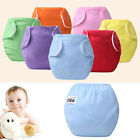 Newborn Baby Diapers Cover Adjustable Reusable Washable Nappies Cloth Wrap