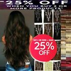 clip in hair feels like aaa real human hair extensions full head double wefted