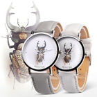 Fashion Women Faux Leather Band Simple Insect Analog Quartz Wrist Watch Cheap