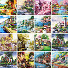 Scenery Buildings Paint By Number Kit DIY Acrylic Oil Painting Art Home Decor
