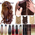 100% Real Natural as human hair Wire in Hair Extensions With Elastic rope YL79