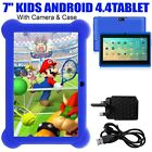 Latest 7″ INCH KIDS ANDROID 4.4 TABLET PC QUAD CORE WITH WIFI CAMERA AND GAMES