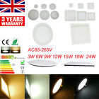 WHOLESALE RECESSED LED ULTRA SLIM PANEL FLAT CEILING LIGHT DOWNLIGHTS FLOODLIGHT