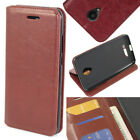 For BLU Studio XL D850Q Cell Phone Case PU Leather Wallet Card Pouch Flip Cover