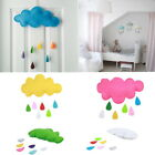 Thboxs Raining Clouds Water Drop Baby Room Hanging Toys Kids Tent Decoration