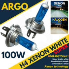H4 100W 8500K Xenon HID Super White Effect Look Headlight Lamps Light Bulbs 12v