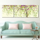 "Blooming Flowers Tree -Home Wall Decor Modern Art Prints On Canvas 16x16""x3pc"