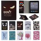 Pattern PU Leather Mangnetic Smart Stand Case for iPad 2 3 4 Air Mini Pro 9.7