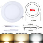 RECESSED LED PANEL LIGHT CEILING DOWNLIGHTS FLOODLIGHT SLIMLINE PANEL LAMP BULBS