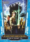 marvel animated series list - 2017 Topps Star Wars 40th Anniversary Parallels Trading Cards Pick From List