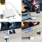 1080P Lightning to Digital AV Adapter HDMI Cable For iPhone X 8 7 6S 6 iPad Pro