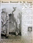 1953 newspaper ST LOUIS BROWNS to move franchise & become The BALTIMORE ORIOLES on Ebay