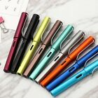 HOT Aluminum Alloy WING SUNG 6359 Fountain Pen Extra Nib 0.38mm Sweet Colors