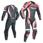 RST 2041 Tractech Evo 3 III Motorcycle Leather One Piece Suit Red Ce Approved