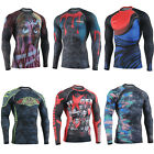 FIXGEAR CFL Compression shirt base layer skin tight under training  fitness 7