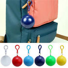 Disposable Ball Hot. Keyring Waterproof Colorful Suit With Portable Travel Rain