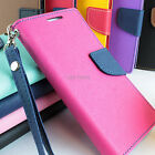 For iPhone 5C Hybrid PU Leather Inner TPU Flip Wallet Pouch Phone Case Kickstand