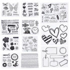 Animals Butterfly Transparent Clear Silicone Stamp for DIY Scrapbooking Crafts