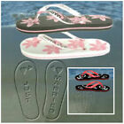 LADIES/MEN HONEYMOON JUST MARRIED FLIP FLOPS/WHITE & PINK/BLACK & PINK/RED & BLK
