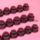 "Button ( Choose Qty ) Cordlock (2 holes 1/8"") Black Round Cord Lock End Stop New"