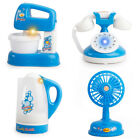 Portable Simulation Fan Phone Kettle Toy Kids Children Electric Boy Girl Gift MO
