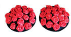 New! Reusable Self-Adhesive PASTIES NIPPLE COVERS Red Roses 518