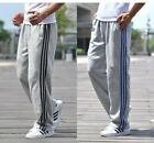 Mens Sweatpants Casual Loose Plus Sport Trousers Straight Pants XL-5XL 2Colors l