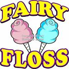 Fairy Floss DECAL (Choose Your Size) Food Truck Sign Sticker Concession