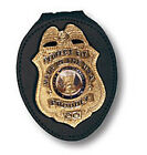 Recessed Neck Badge Holder with Chain