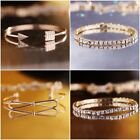 Fashion Popular Jewelry Crystal Charm Gold Bracelet Girls Valentine's Day Gift