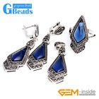 Arrow Drop Stone Rivet Beads Earrings Pendant Ring Jewelry Sets with Gift Box