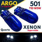 Bright Bi Xenon High Power Side Light 501 W5w 158 168 T10 Super White Bulbs 12v