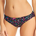 FREYA HARMON GIRL BRIEF Size S, M, L or XL ~BNWT~ BLACK FLORAL AA5305BLK £14