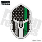 American Subdued Flag Thin Green Line Spartan Decal Military Gloss Sticker HVG
